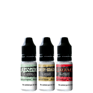 E-liquides High-End par Révolute